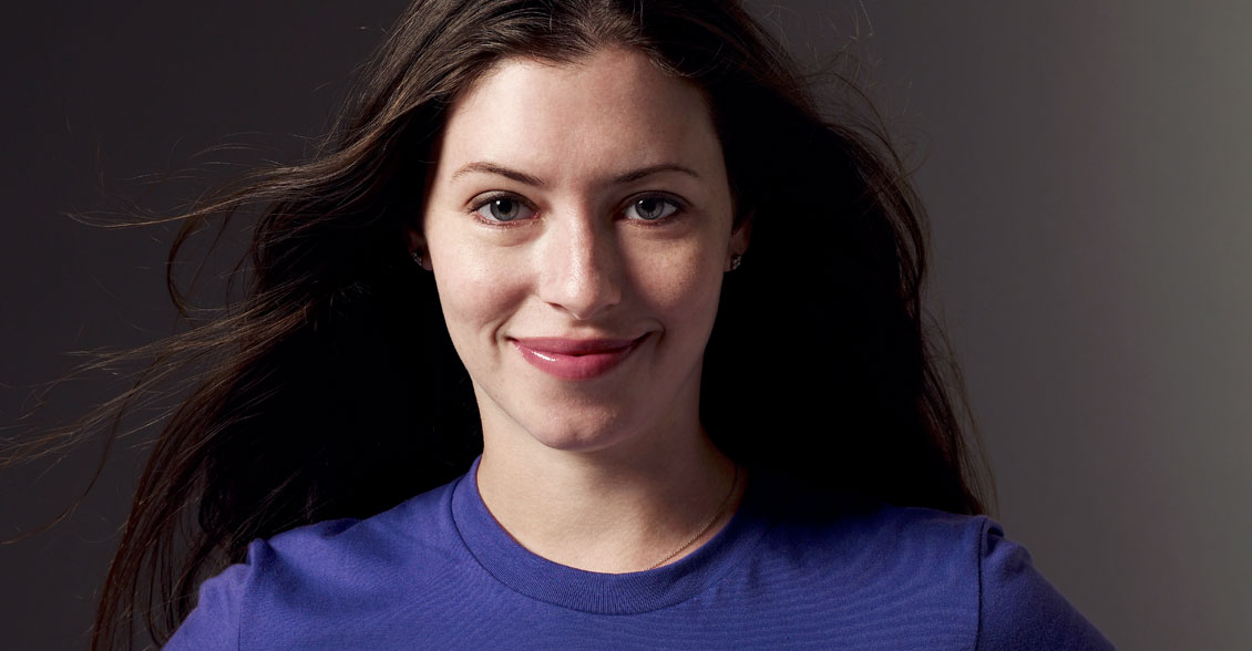 Lauren Miller sports the color purple in hopes of ending this devastating disease.