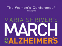 Maria Shriver's March on Alzheimer's