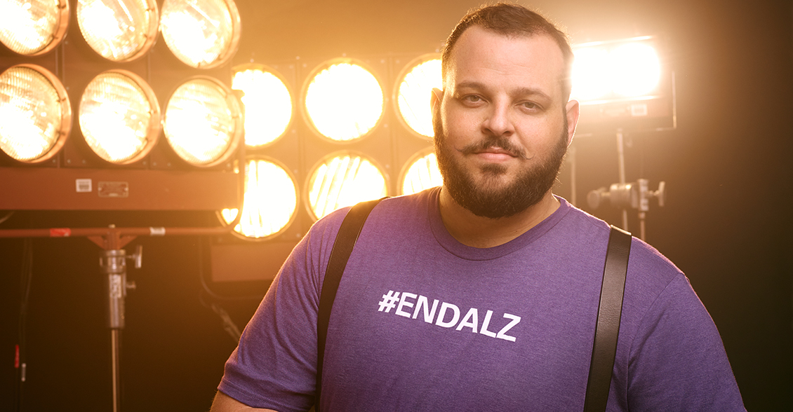Daniel Franzese fights to #ENDALZ.