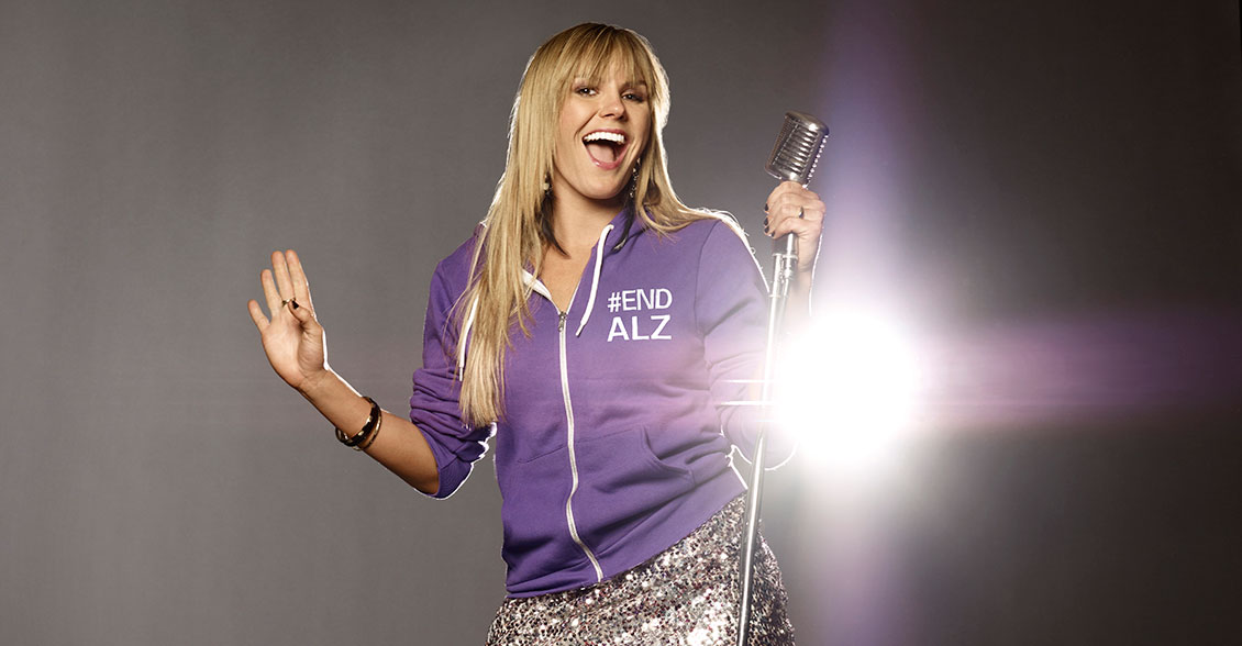 Musician Grace Potter hits a high note in purple. Join her today!