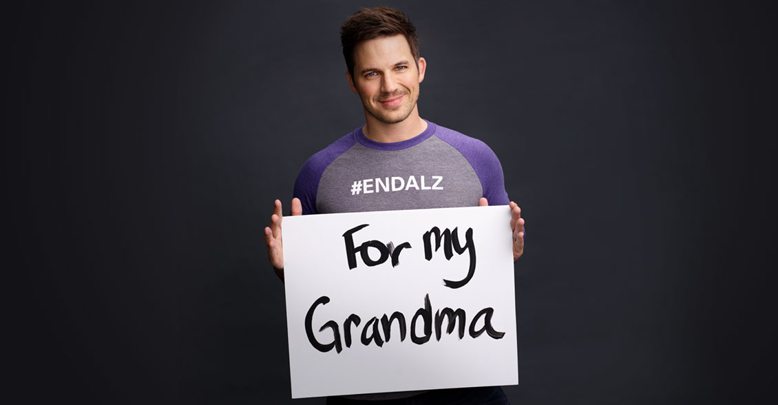 'Timeless' star and long-time #ENDALZ Champion Matt Lanter fights to end the disease in honor of his grandma.