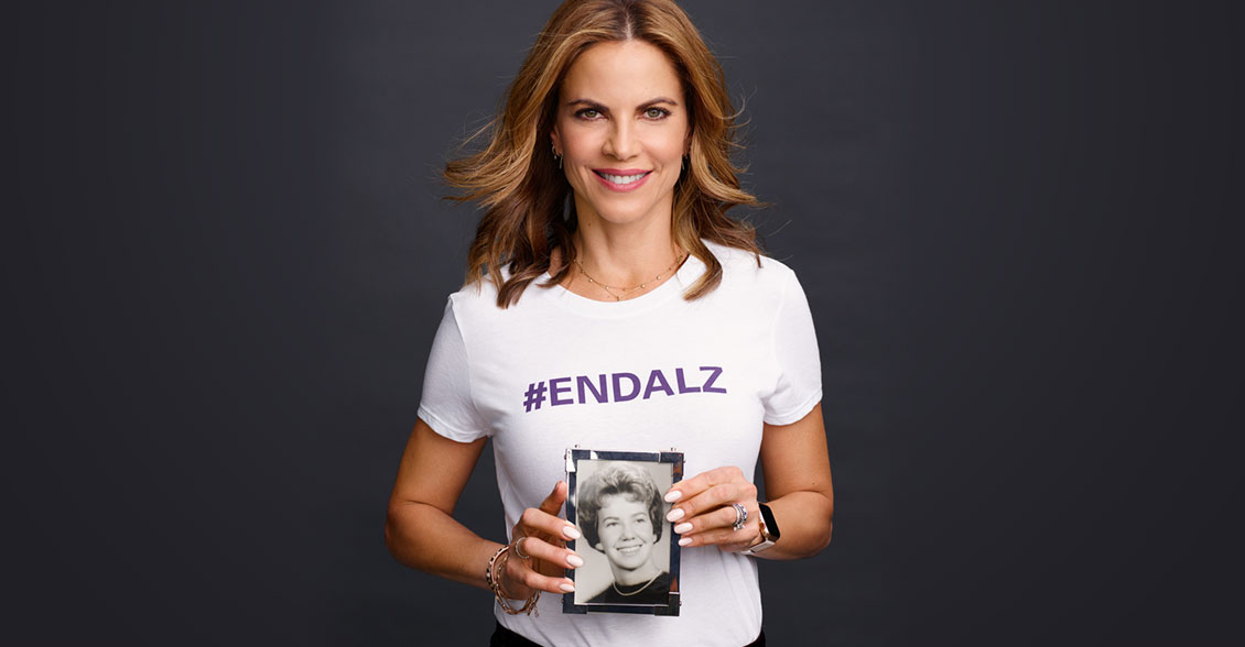 Journalist and television anchor Natalie Morales stands up and speaks out about her hope of a world without Alzheimer's in honor of her mother-in-law. Join her!