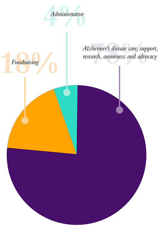 Annual Report Pie Graph